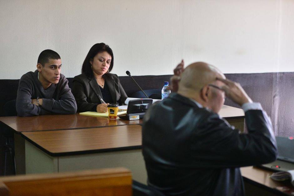 Durante el primer día, un perito testificó cómo encontraron el cuerpo del Chef Humberto. (Foto: Wilder López/Soy502)