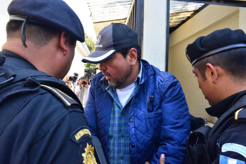 Juan Edy Estuardo Díaz Sandoval fue capturado por asociación ilícita, fraude y cohecho pasivo. (Foto: Jesús Alfonso/Soy502)