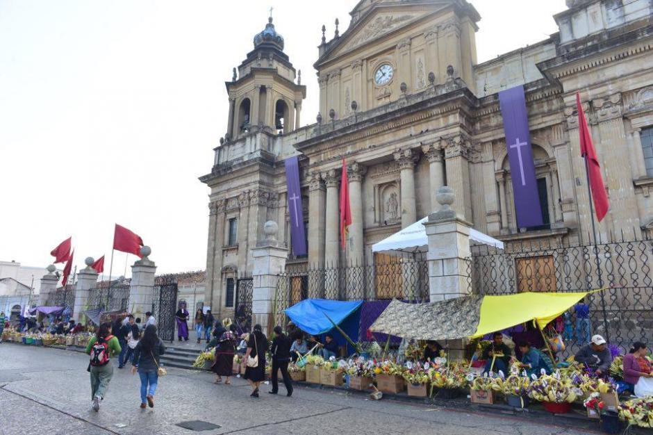 El Domingo de Ramos marca el inicio de la Pascua.(Foto: Jesús Alfonso/Soy502)