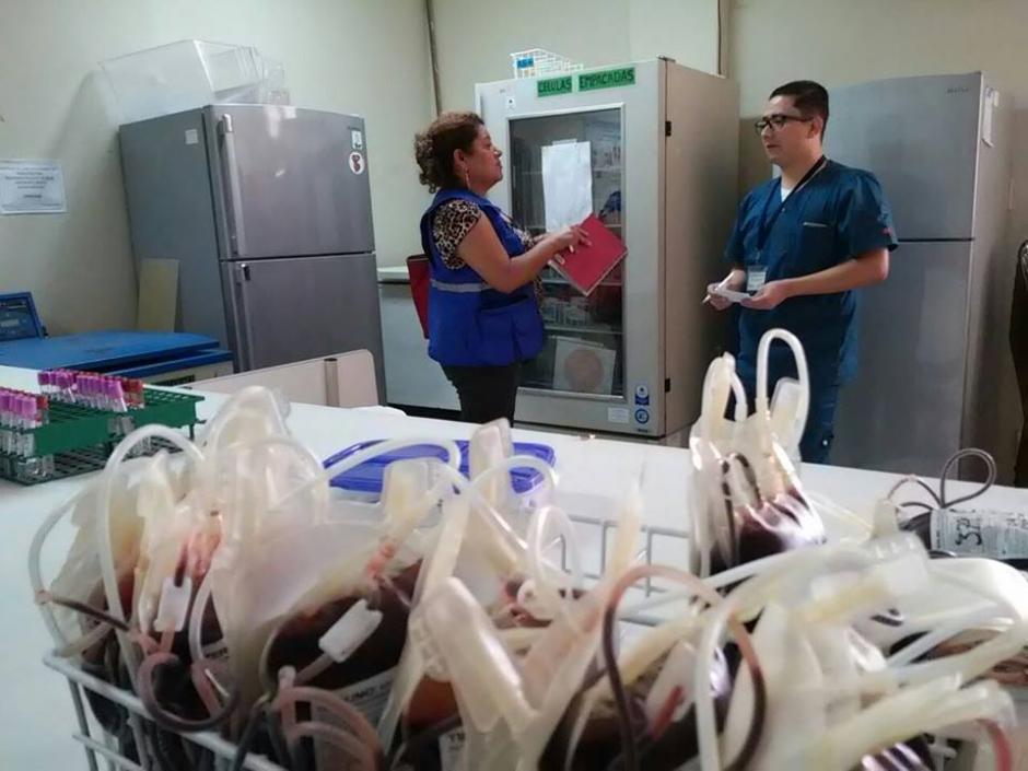 El Banco de Sangre no tiene bolsas y transfusores desde hace dos meses. (Foto: PDH)