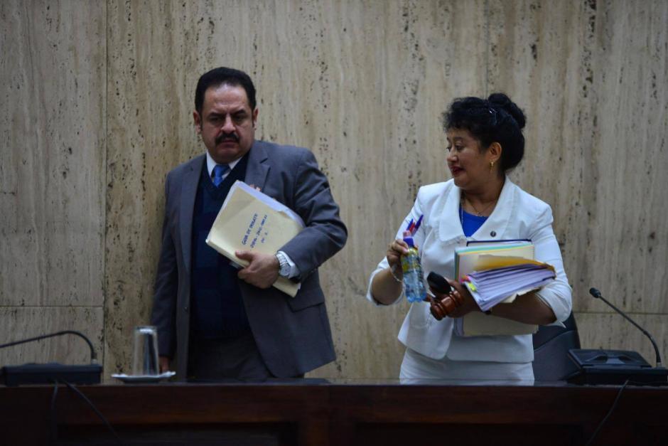 """La Jueza Yasmín Barrios, preside el Tribunal de Mayor Riesgo """"A"""" . (Foto: Jesús Alfonso/Soy502)"""