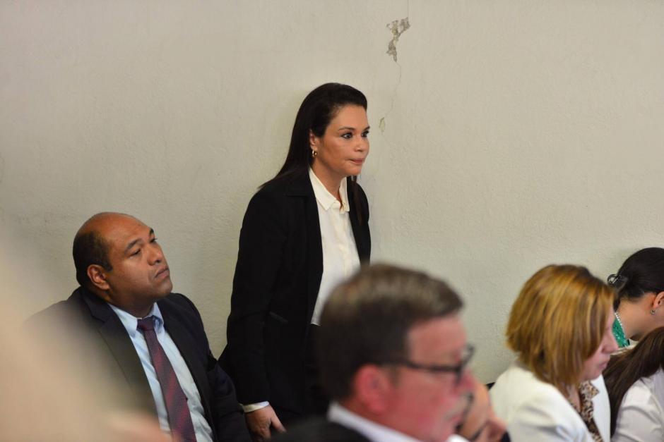 La exvicepresidenta indicó que rendirá su declaración este 2 de marzo ante el juez de Villa Nueva. (Foto Jesús Alfonso/Soy502)
