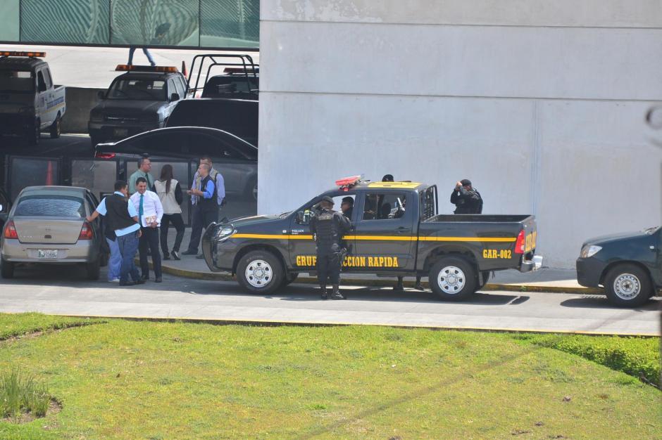 La Policía y el Sistema Penitenciario trasladaron a Jiménez desde Mariscal Zavala, donde estaba detenido. (Foto: Wilder López/Soy502)