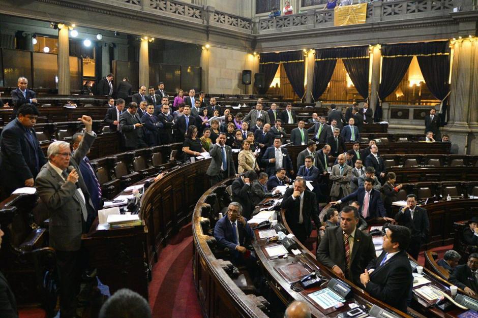 Oliverio García Rodas pidió que no se aprueben las reformas este martes. (Foto: Wilder López/Soy502)