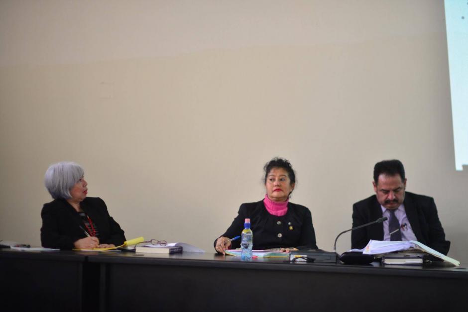 El Tribunal de Mayor Riesgo A, sentenció la semana pasada a 120 y 240 años de prisión los sindicados Esteelmer Reyes y Heriberto Valdez. (Foto: Jesús Alfonso/Soy502)