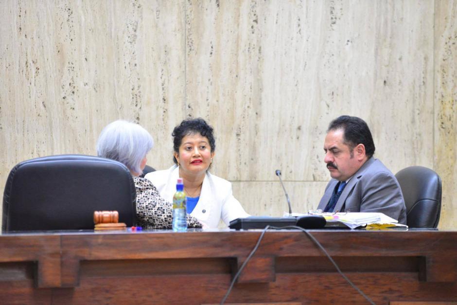 """El Tribunal de Mayor Riesgo """"A"""" es presidido por la Jueza Yasmín Barrios. (Foto: Jesús Alfonso/Soy502)"""