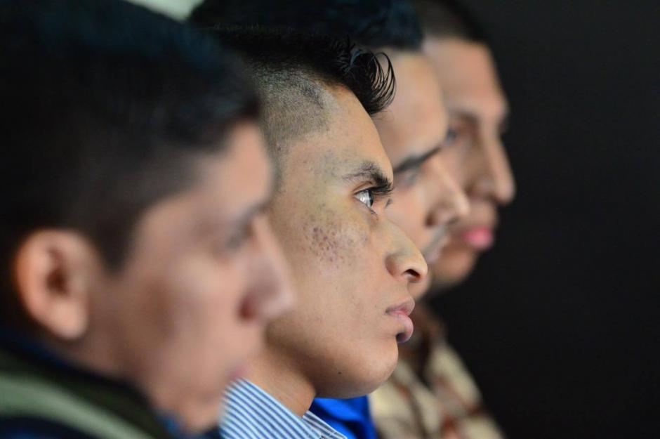 Los 4 exagentes de PNC se declararon inocentes en el juicio. (Foto: Jesús Alfonso/Soy502)