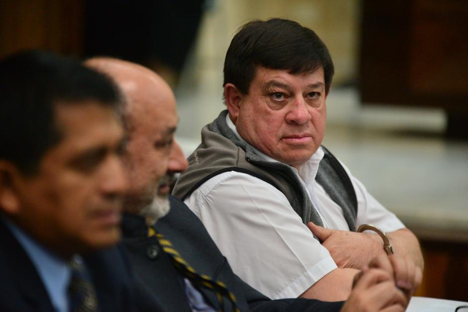 Esteelmer Reyes Girón fue condenado a 120 años de prisión por el caso Sepur Zarco. (Foto: Wilder López/Soy502)