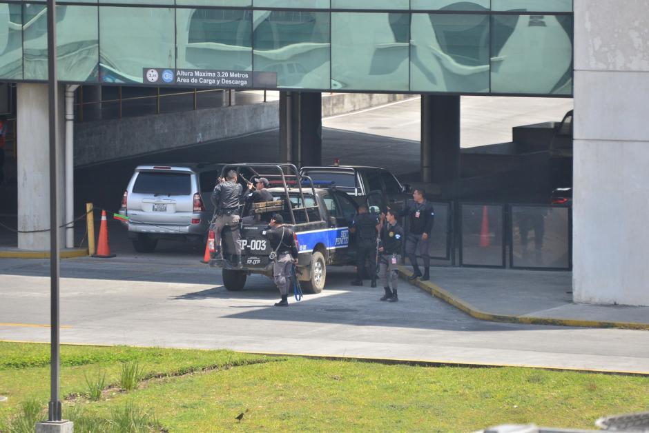 El Sistema Penitenciario entregó a Brayan Jiménez a las autoridades estadounidenses. (Foto: Wilder López/Soy502)