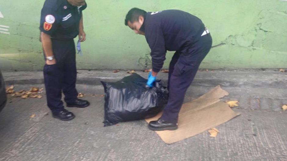 Abandonan restos humanos en cercanías a la casa del alcalde de Mixco, Neto Bran. (Foto: Facebook/Neto Bran)