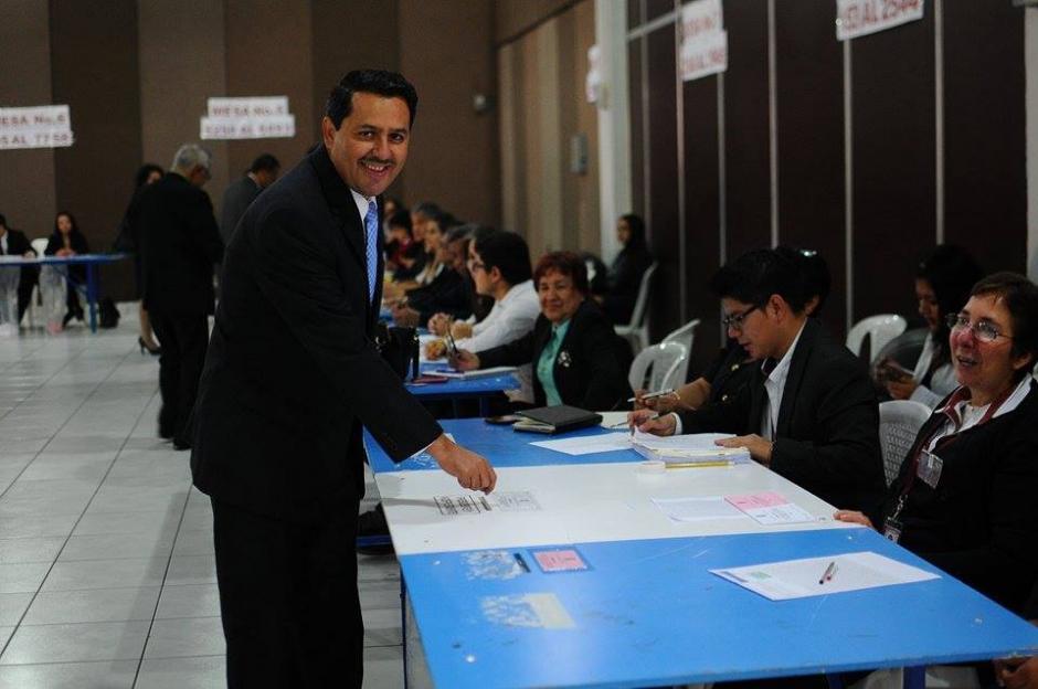 Óscar Cruz fue Presidente del Tribunal Electoral del Deporte Federado, hoy busca ser magistrado titular ante la CC. (Foto: Alejandro Balán/Soy502)