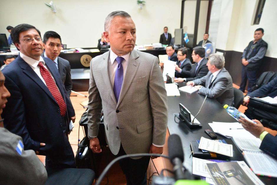 """""""Eco"""" tuvo que esperar más de un día para poder declarar ya que los abogados de los sindicados no querían que este diera su versión de los hechos. (Foto: Wilder López/Soy502)"""