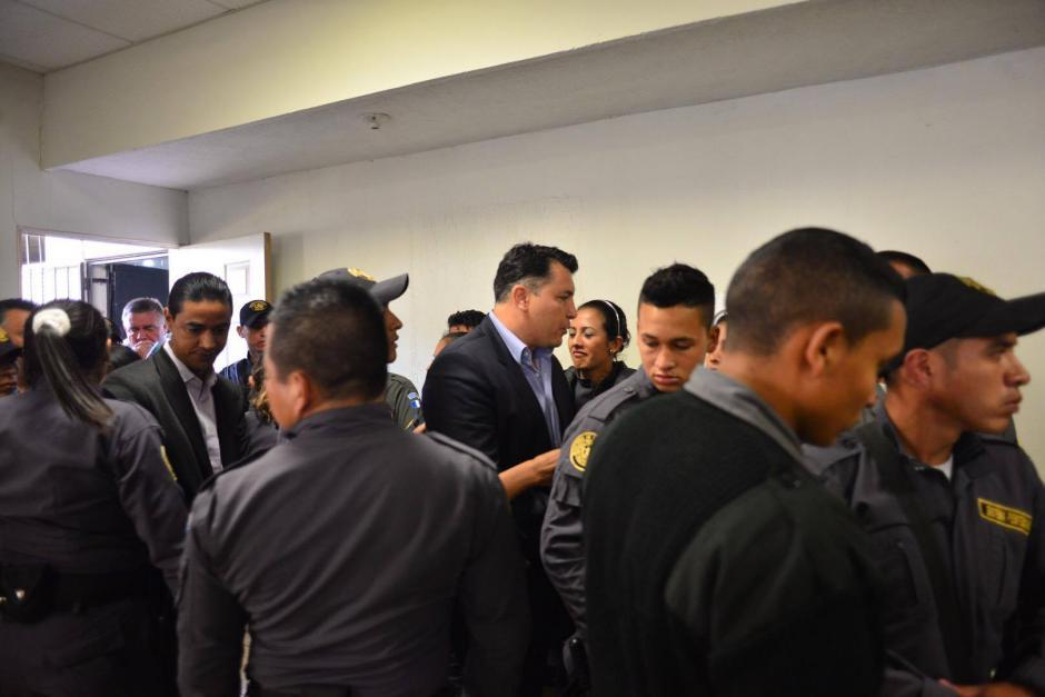 Gran expectativa se generó por la decisión del juez sobre los implicados al Caso Lago de Amatitlán. (Foto: Jesús Alfonso/Soy502)