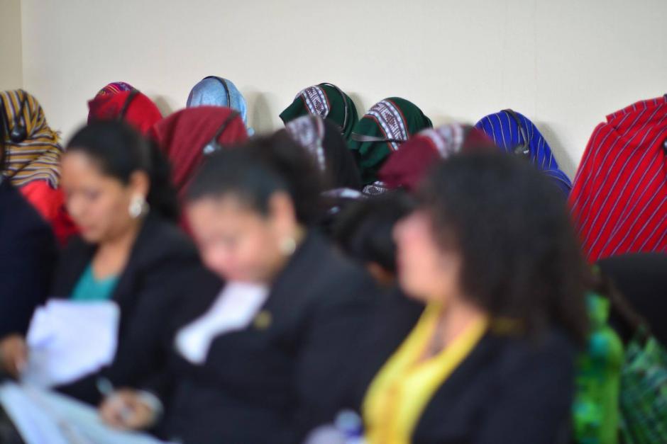 Las mujeres de Sepur Zarco lograron que el Tribunal de Sentencia de Mayor Riesgo dictara medidas de reparación a su favor. (Foto: Jesús Alfonso/Soy502)
