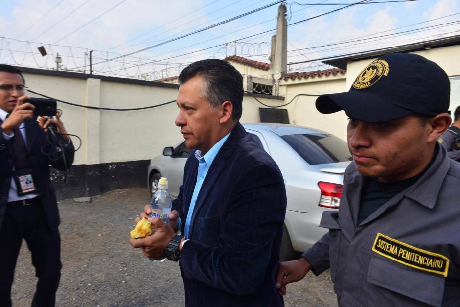 Los acusados había sido trasladados a Villa Nueva. (Foto: Jesús Alfonso/Soy502)
