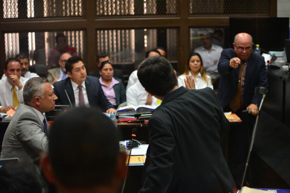 """Con este incidente terminó la audiencia de declaración de """"Eco"""", que no pudo concluir. (Foto: Wilder López/Soy502)"""
