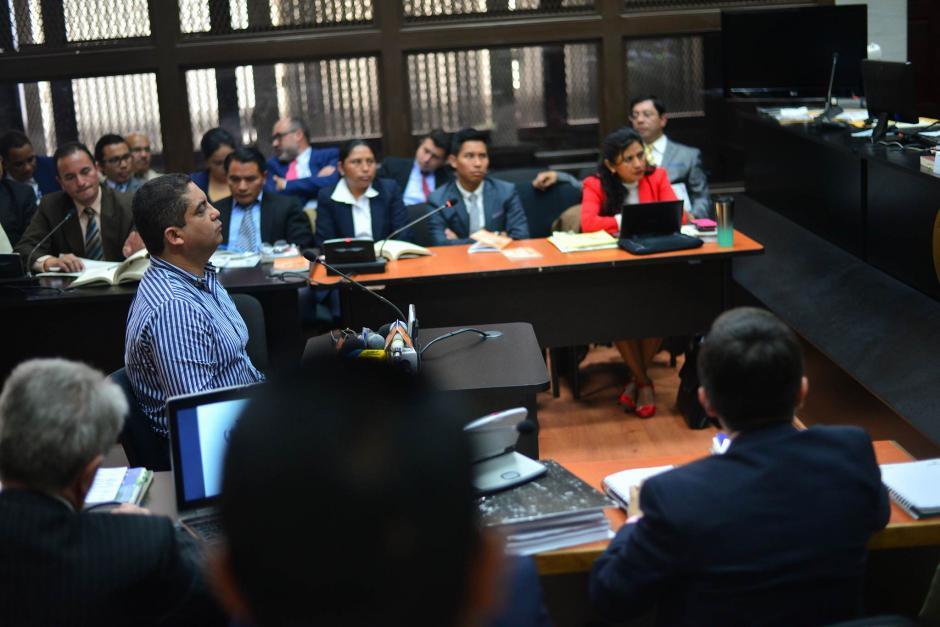 El juzgado de Mayor Riesgo B es donde se desarrollan las audiencias de La Línea. (Foto: Wilder López/Soy502)