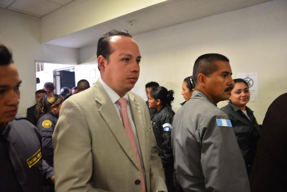 Otro de los acusados al Caso de Lago de Amatitlán. (Foto: Jesús Alfonso/Soy502)