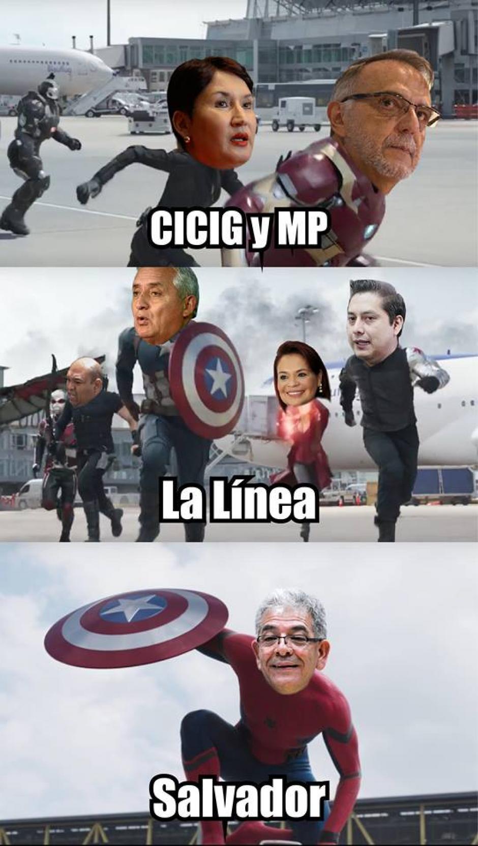 Algunos compararon a The Avengers con el caso de La Línea. (Foto: FB La Línea 2)
