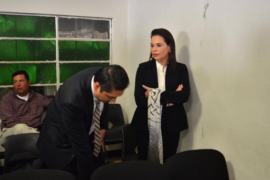 La exvicepresidenta Roxana Baldetti se le acusa en el nuevo caso de corrupción de asociación ilícita, fraude y tráfico de influencias. (Foto: Jesús Alfonso/Soy502)