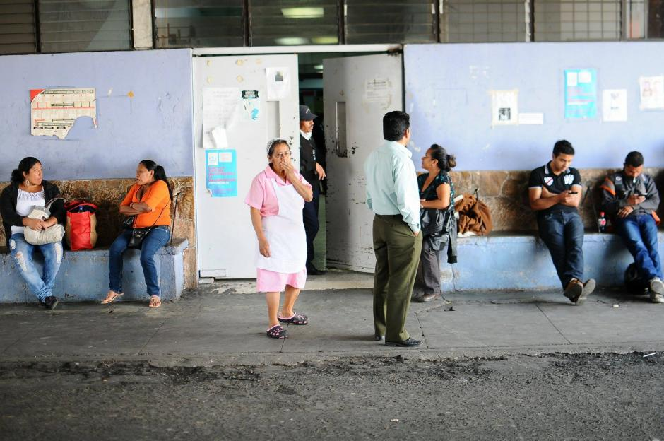 El colapso habría sido provocado por el excesivo ingreso de pacientes durante el fin de semana. (Foto: Alejandro Balán/Soy502)