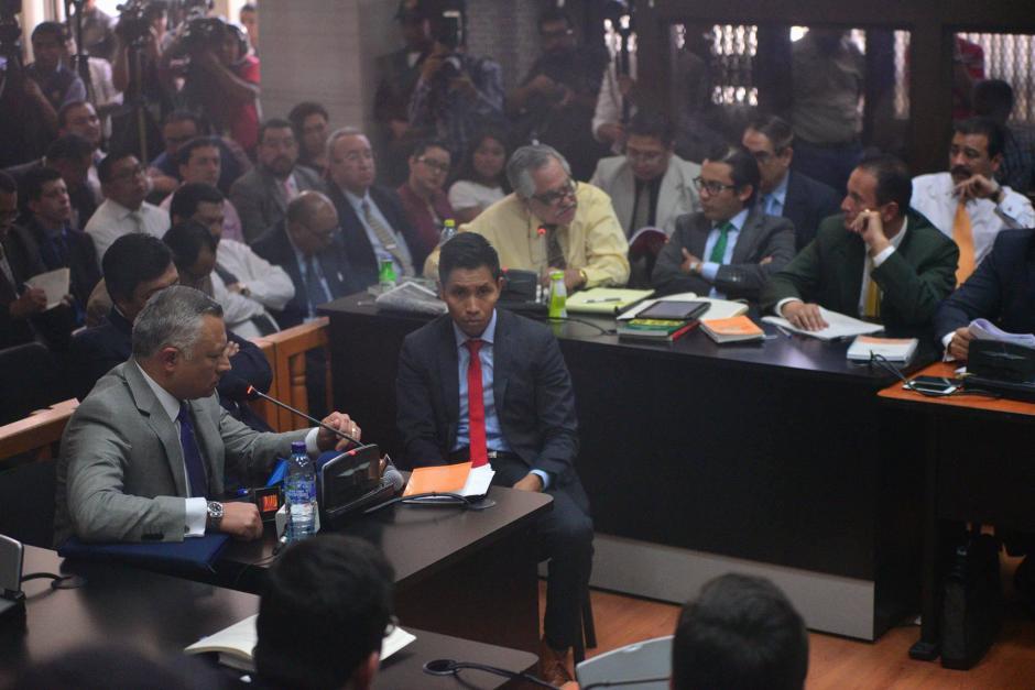 La audiencia de anticipo de prueba se realizó este martes luego de más de un día de retraso en el caso la Línea. (Foto: Wilder López/Soy502)