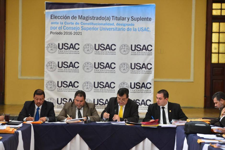 La Universidad de San Carlos (USAC) eligió a Francisco De Mata Vela como magistrado titular de la Corte de Constitucionalidad (CC).  (Foto: Jesús Alfonso/Soy502)