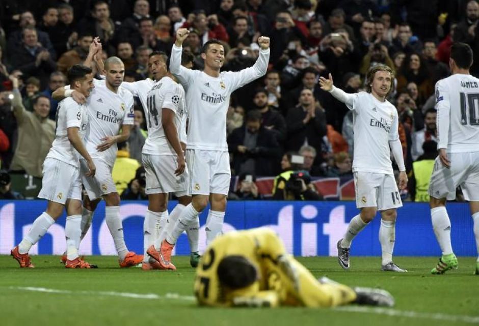 El Madrid venció a la Roma y avanzó a cuartos de final de la Champions. (Foto: AFP)