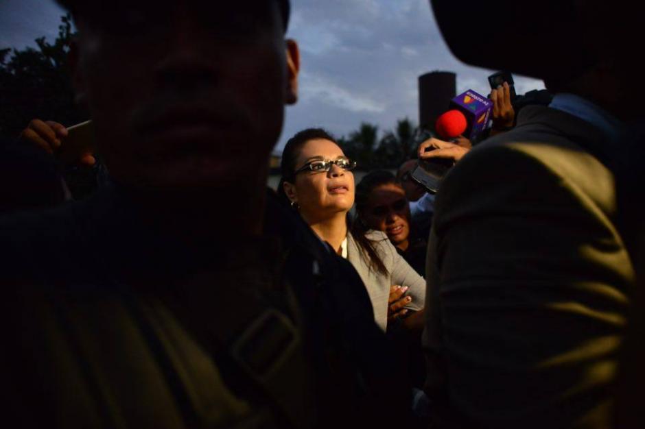 El camino legal de la exvicepresidenta Roxana Baldetti se ha complicado y la posibilidad de recuperar su libertad está lejos. (Foto: Jesús Alfonso/Soy502)