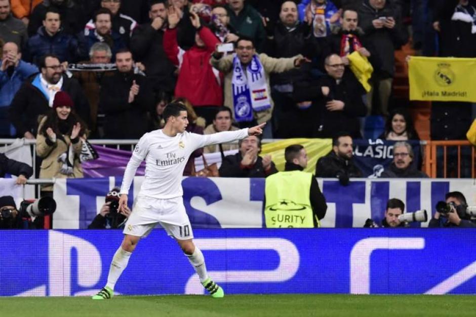 James Rodríguez tuvo una buena actuación. (Foto: AFP)