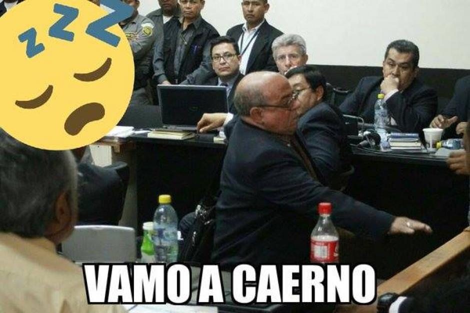 El abogado Mario Sanler se convirtió en el protagonista de los memes.