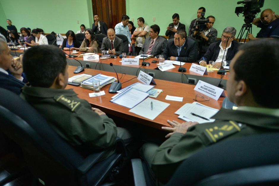 Otras autoridades fueron invitadas para la reunión. (Foto: Wilder López/Soy502)