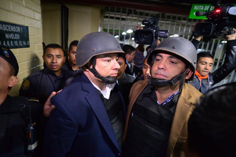 """Tanto """"Eco"""" como Monzón se han mostrado a favor de colaborar con la investigación de La Línea. (Foto: Wilder López/Soy502)"""