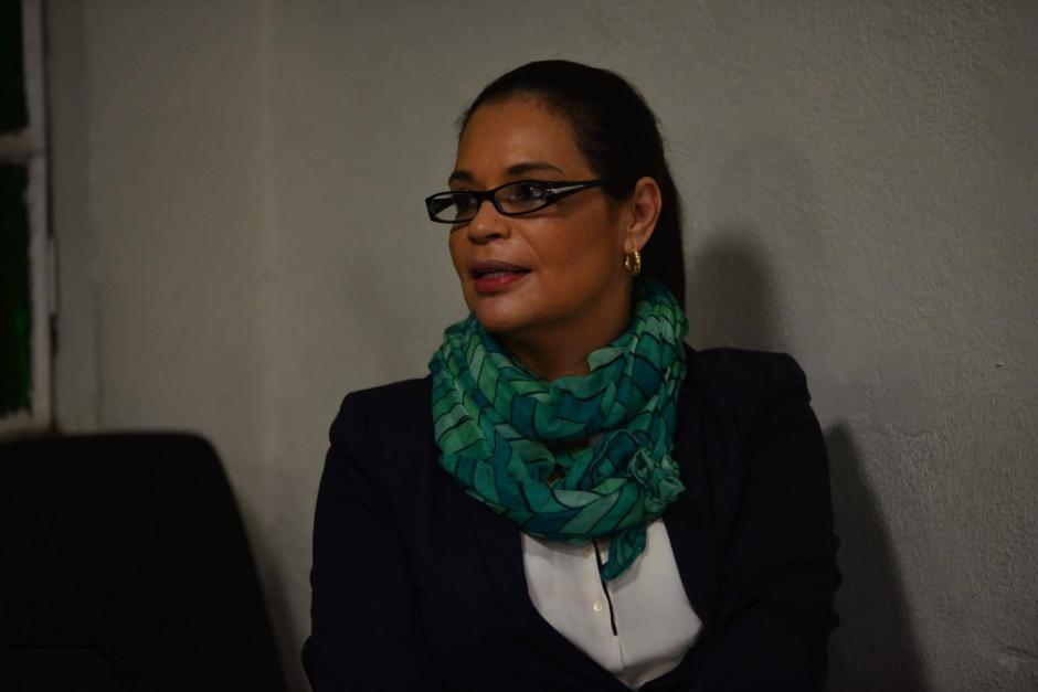 """La exvicepresidenta Roxana Baldetti también está ligada a proceso por el caso """"La Línea"""". (Foto: Jesús Alfonso/Soy502)"""