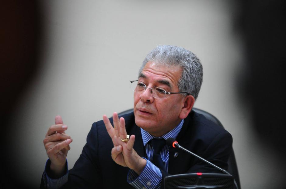 El juez Miguel Ángel Gálvez rechazó los alegatos que plantearon los 12 abogados. (Foto Wilder López/Soy502)