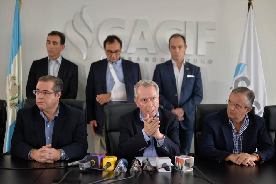 El Cacif dio a conocer que las pérdidas oscilan en 7.5 millones de dólares. (Foto Wilder López/Soy502)