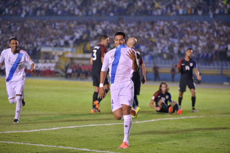 Rafa Morales abrió el marcador del partido. (Foto: Wilder López/Soy502)