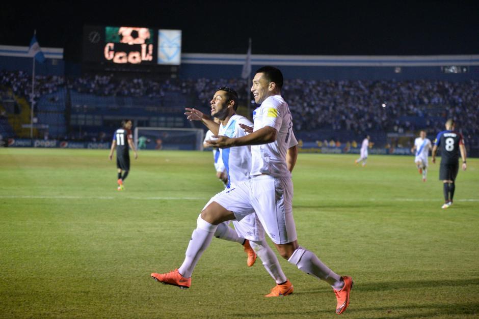 Guatemala dominó el primer tiempo del juego. (Foto: Wilder López/Soy502)
