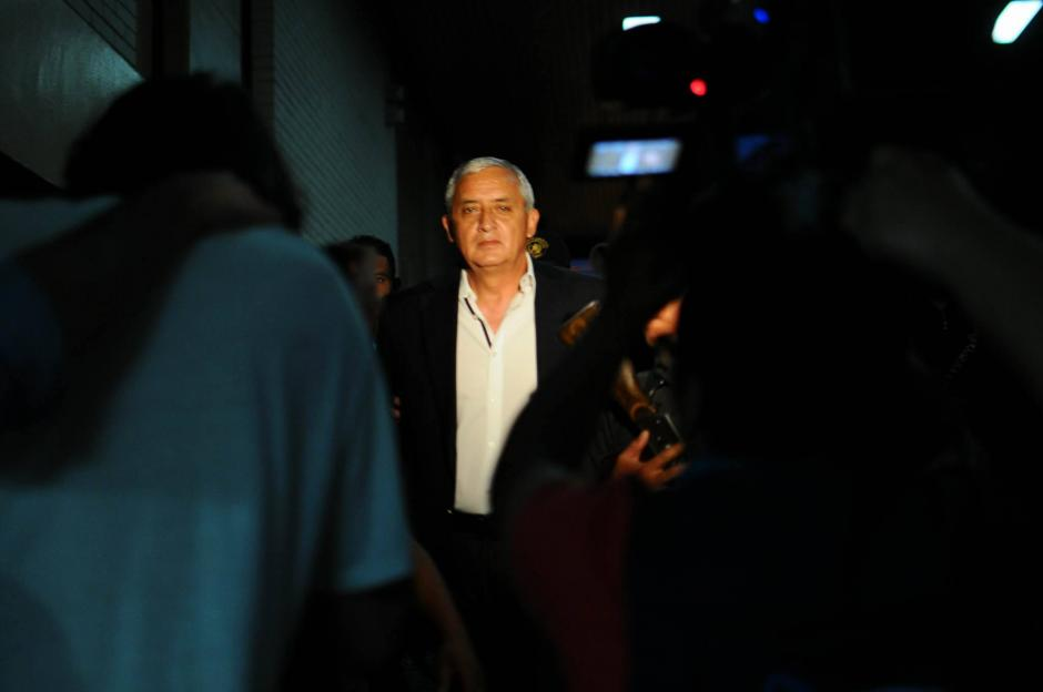 El expresidente Pérez Molina se reencontrará publicamente con la exvicemandataria Roxana Baldetti. (Foto: Alejandro Balán/ Soy502)