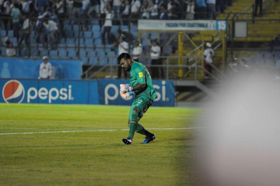 Paulo César Motta se lució como la estrella del partido. (Foto: Pedro Pablo Mijangos/Soy502)