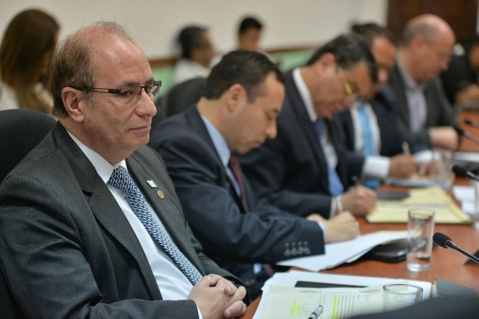 El Superintendente de Bancos, Alejandro Arévalo, dijo la Ley de Bancos le impide revelar información. (Foto: Wilder López/soy502)