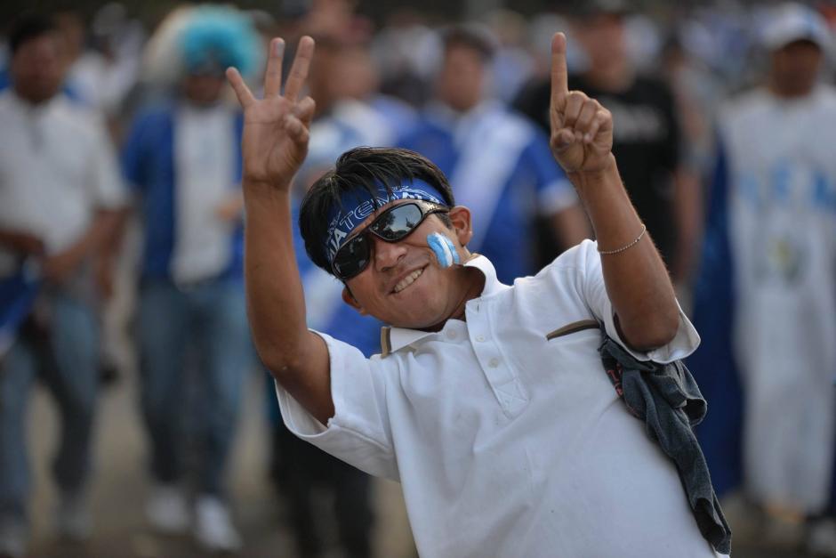 Este aficionado pronostica un resultado favorable para la Sele. (Foto: Wilder López/Soy502)