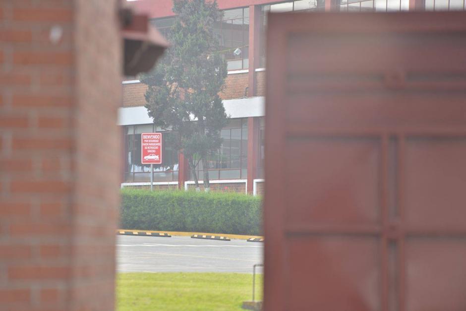 Según el comunicado del colegio hoy jueves 31 se reanudaron las clases. (Foto: Wilder López/Soy502)