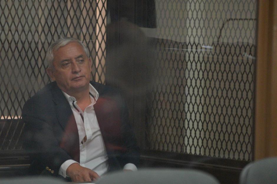 El expresidente suma más de 200 días en prisión preventiva. (Foto. Wilder López/Soy502)