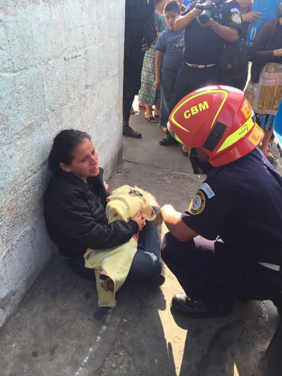 La madre del menor intentó llegar al Hospital San Juan de Dios pero no encontró transporte. (Foto: Cortesía)
