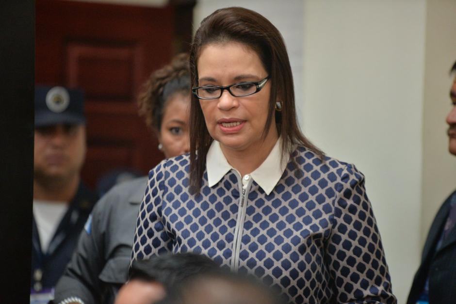 Roxana Baldetti sería junto a Pérez Molina, cabecilla de la red de corrupción. (Foto: Archivo/Soy502)