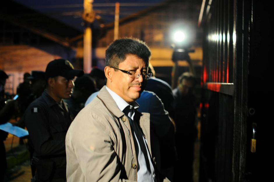 Omar Franco, exjefe de la SAT es uno de los supuestos integrantes de la red de defraudación aduanera conocida como La Línea. (Foto: Alejandro Balán/ Soy502)