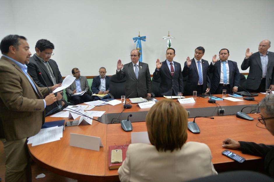 La Comisión de Finanzas citó a directivos de Banrural y de la Superintendencia de Bancos. (Foto: Wilder López/Soy502)