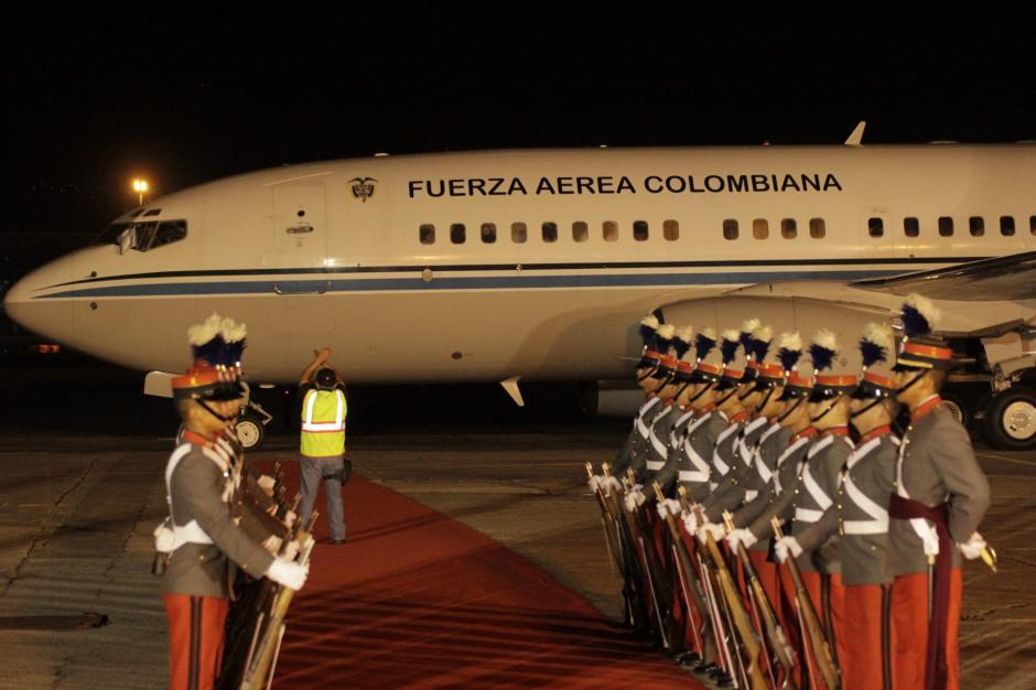 El mandatario colombiano tendrá una agenda apretada este lunes. (Foto: Fredy Hernández/Soy502)