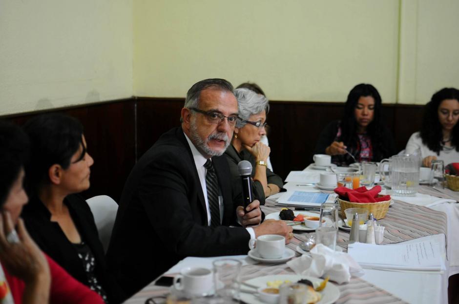 El Comisionado Iván Velásquez destacó la importancia de que el Congreso apruebe la Carrera Judicial. (Foto: Alejandro Balán/Soy502)